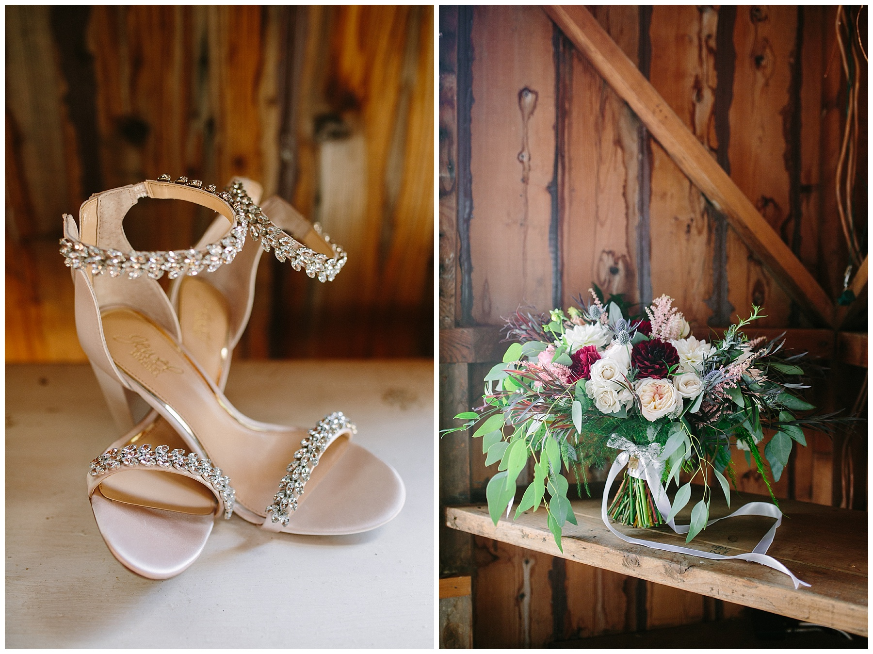 bagdley mishka wedding shoes bouquet